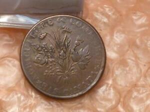 Lower Canada / Bas Canada: Bank Du Peuple, Montreal, Un Sou Token (1837) #DD