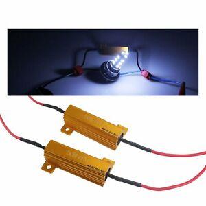 2x Canbus No Error 50W 6 Ohm LED Lastwiderstände Für BMW AUDI VW H1 H3 H7 H11 H8