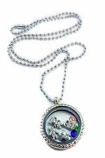 for mom I love my kids living memory locket necklace mothers birthstones