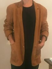 Gianni Versace vintage brown women's suede jacket, size medium - great condition