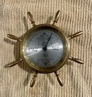 Solid brass ships wheel tide clock… Parts and repair