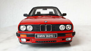 BMW 1:18 Otto mobile 325i Cabrio E30 TC2 Baur rot limited Edition OVP sehr gut