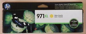 Brand New! HP 971XL High Yield Original Ink Cartridge, Yellow (CN628AM)