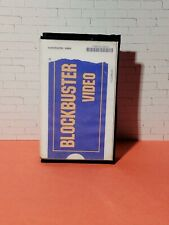 Blockbuster Video Movie Collectible Toy VHS Miniature Diorama