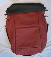 BMW E89 Z4 Cubierta De Base De Asiento De Cuero Rojo Coral lado derecho genuino 52107213906