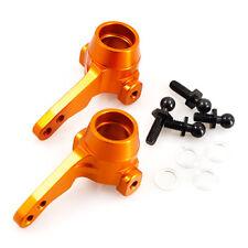Orange alloy front knuckle arm (hub) for HPI Sprint 2 1:10 RC car