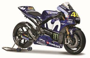 Maisto 1:18 MOTOGP 2018 Yamaha YZR-M1 #46 Valentino Rossi Motorcycle Bike Model
