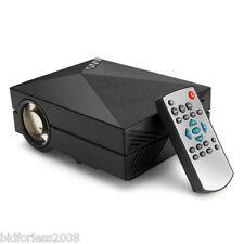 Mini 3D Projecteur LED 1000 Lumen HDMI 1000:1 Vidéoprojecteur 1080P HD VGA AV