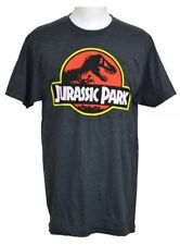 JURASSIC PARK WORLD Movie Charcoal Grey T-Shirt Authentic Licensed S Small NWT
