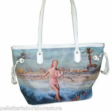 BORSA Y NOT  D336 NEW SHOPPING MEDIA NUOVO MODELLO STAMPA CALIFORNIA  SUMMERLAND