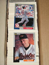 1998 Collector's Choicer  BASEBALL COMPLETE  530  CARD SET