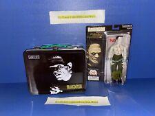 "Frankenstein Mego 8"" Retro Figure + Universal Monsters Frankenstein Lunchbox New"