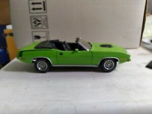 1970  HEMI CUDA  DIECAST CAR  FRANKLIN MINT 1/24 SCALE