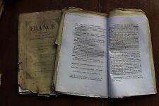 THEODORE OGIER - 1846 - livraison originale : canton de FEURS (Loire)