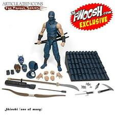 Fwoosh Exclusive Articulated Icons Feudal Series Shinobi (One of Many)