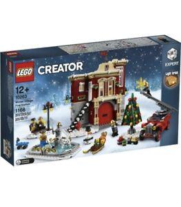 🔸Caserma Pompieri Villaggio Invernale LEGO 10263 Winter Village Fire Station🔸