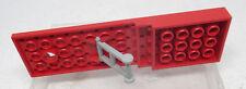 Lego 968 Platte rot 4x14x1 Trailer 969 aus Set Set 649 621 683 Auto Zubehör