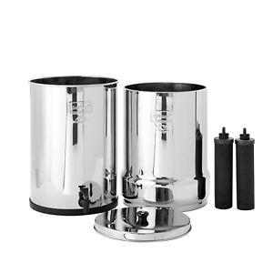 Crown Berkey Water Filter System Black Filters and/or Fluoride Filters (6 Gal)