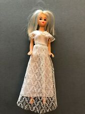 1970's Dawn sized Clone Doll, wedding dress