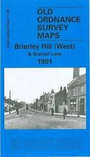 MAP OF BRIERLEY HILL WEST & BRETTELL LANE 1901 CHEAPEST COMBINED ITEM+PP ON EBAY