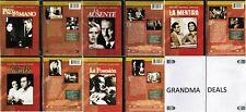 Lot of 5 New Spanish DVD En La Palma De Tu Mano Ausente Mentira Posesion Noche