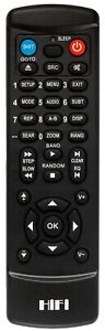 ADCOM GTP-500II Replacement remote control
