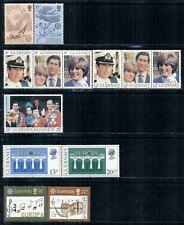GUERNSEY 222-315 SG230-340 MNH 1981-85 4 sets Cat$6