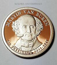 2008 S Martin Van Buren Presidential  *PROOF* Dollar Coin **FREE SHIPPING**