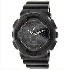 Casio watch Mens G - SHOCK Black GA-100-1A1 quartz watch waterproo