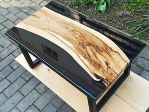 """60"""" x 32"""" Epoxy Resin Coffee Table Top Home Office Furniture"""