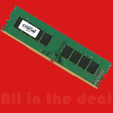 Crucial 16GB Single DDR4 2400MHz PC4-19200 Desktop RAM 288-Pin Memory 2400 Dimm