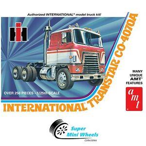 AMT INTERNATIONAL TRANSTAR CO-4070A SEMI TRACTOR 1:25 Scale Model Kit - AMT1203