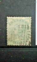 FRANCOBOLLI GRAN BRETAGNA 1880 REGINA VITTORIA 1/2 P. VERDE TIMBRATO USED (C.B)