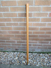 HARDWOOD LONG HANDLED HANDLE ROUND MOUTH IRISH SHOVEL SPADE REPLACEMENT DIGGING