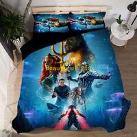 Aquaman Doona/Quilt/Duvet Cover Set Single/Double/Queen/King Size Bed Linen