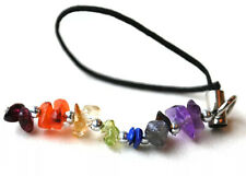 REIKI ENERGY CHARGED SEVEN CHAKRA CRYSTALS MOBILE / BAG / KEY CHARM NATURAL GIFT