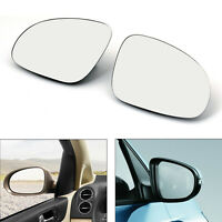 Door Mirror Left&Right Glass Heated W/Holder For VW Golf GTI Jetta MK5 Passat B6