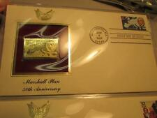 U.S. Stamps of The Century 22 Karat Gold First Day Cover Collection