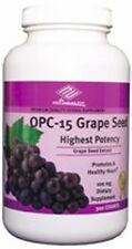 Highest Potency Grape Seed Extract 300 Tablets OPC -15 Red wine, Bilberry
