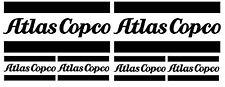 ATLAS COPCO COMPRESSORE Decalcomanie Adesivi