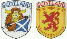 Set of 2 Scozia Bandiera Scozzese Interno Adesivo Finestrino Auto Decalcomanie