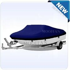 20 ft - 22 ft Heavy Duty Waterproof Boat Cover Fishing Ski Bass V-hull MBT3N