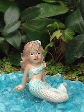 Miniature Dollhouse FAIRY GARDEN ~ Ocean UNDER THE SEA Mermaid Girl MELODY