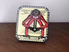 Consul The Educated Monkey Vintage Tin Toy Multiplcation Calculator Boxed. Mint.