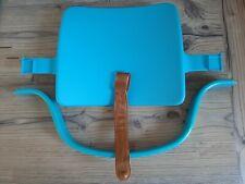 Stokke Tripp Trapp Baby Set Türkis / Blau mit Holzbügel, Rückenlehne und Riemen