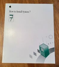 How to Install System 7 (manual, for Macintosh)