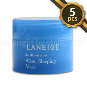LANEIGE  Water Sleeping Mask Pack 15ml x 5pcs (75ml) Firming Soothing SUM37