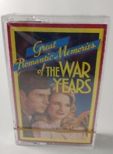 Great Romantic Memories Of The War Years Audio Cassette Tape 1 Readers Digest