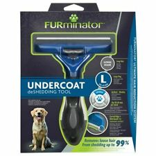 FURminator Undercoat deShedding Tool for Large Long Hair Dog