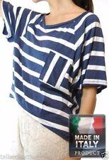 Unbranded Striped Regular Size Tops & Blouses for Women